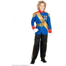 Costume PRINCIPE AZZURRO - Tg S 5/7 anni 128 cm