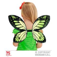 Ali Farfalla Nero-Verde