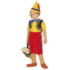 Costume PINOCCHIO - Tg 3/4 anni 110 cm