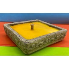 Candela Citronella Quadrata