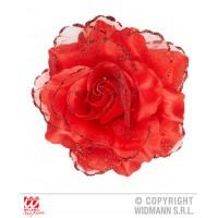 Molletta Rosa Rossa c/glitter