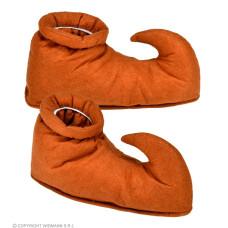 Copriscarpe Elfo Marrone in tessuto