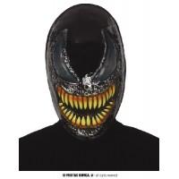 Maschera Eroe Nero/VENOM in plastica