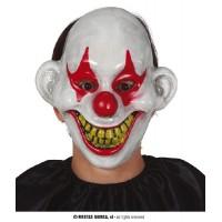 Maschera Clown IT in plastica