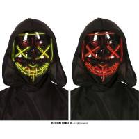 Maschera Nera c/luce