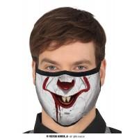 Mascherina Clown IT Horror 3 strati