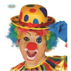 Bombetta Clown c/pois