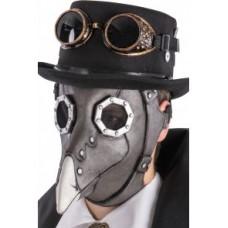 Maschera Corvo Steampunk in lattice