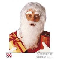 Parrucca Babbo Natale con barba