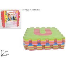 Tappeto Puzzle con Lettere