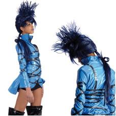Parrucca Elektra (blu)
