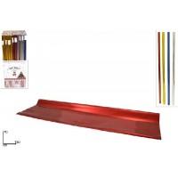 Foglio metallizzato COL. ASS. 150x70 cm