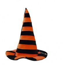 Cappello Strega Arancio/Nero