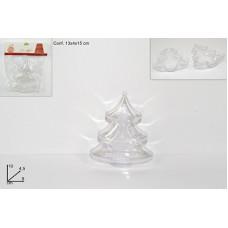 ALBERO in Plastica Trasparente 10 cm
