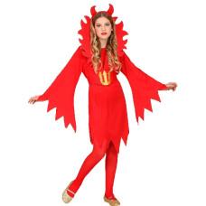 Costume DIAVOLESSA - Tg L 11/13 anni 158 cm