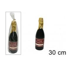 Bottiglia spumante sparacoriandolo 30 cm
