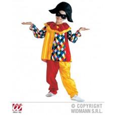 Costume ARLECCHINO - Tg M 8/10 anni 140 cm