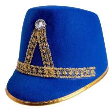 Cappello Majorette Blu' in feltro
