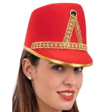Cappello Majorette Rosso in feltro
