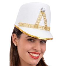 Cappello Majorette Bianco in feltro