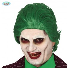 Parrucca Joker Verde