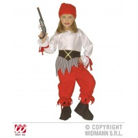 Costume PIRATESSA - Tg 4/5 anni 116 cm