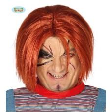 Parrucca Chucky/Bambola Horror