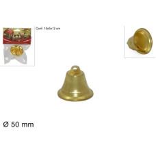 Campana ORO in metallo 5 cm