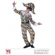 Costume ARLECCHINO - Tg S 5/7 anni 128 cm
