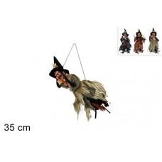 Befana da appendere 35 cm - 3 mod ass