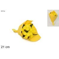 Bouquet Mimosa 28 fiori 21 cm
