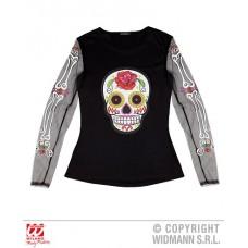 Camicia DIA DE LOS MUERTOS - Tg M 44/46