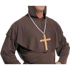 Collana Croce Oro in plastica
