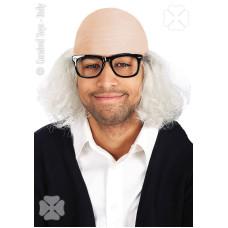 Calotta Nonno c/capelli grigi e occhiali