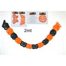 Festone Halloween 2 mt - mod ass