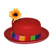 Bombetta Clown c/fiore