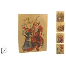 Busta Regalo Babbo Natale 42x32x10 cm