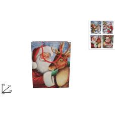 Busta Regalo Babbo Natale 33x27x12 cm
