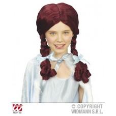 Parrucca Alice Rossa Bambina