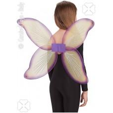 Ali Farfalla Gialla/Viola 48x78 cm