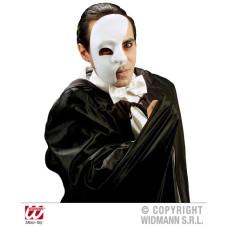 Maschera Bianca Mezzo Viso in tessuto