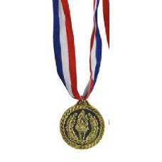 Medaglia oro grande vincitore c/collana