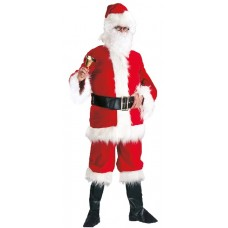 Costume BABBO NATALE lusso Rosso - Tg XL 56/58