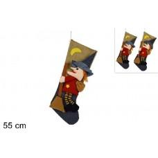 Calza Befana 55 cm - 2 mod ass