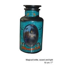 Bottiglia Magica c/luce e suono 18 cm