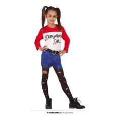 Costume HARLEY QUINN - Tg 10/12 anni