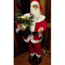 Babbo Natale c/movim e musica 150 cm