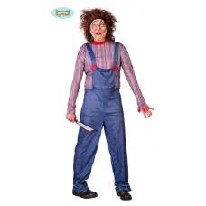 Costume CHUCKY/BAMBOLA HORROR - Tg L  52/54