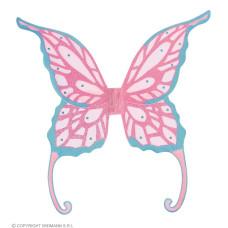 Ali Farfalla Maxi Rosa c/gemme