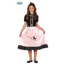 Costume GREASE/PIN UP - Tg 7/9 anni